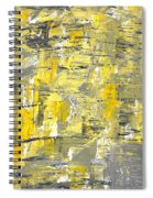 Yellow Sadness Spiral Notebook