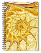 Yellow Shell Spiral Notebook