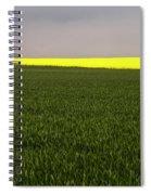 Yellow Skyline Spiral Notebook