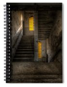 Yellow Stairs Spiral Notebook