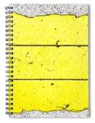 Yellow Stone Spiral Notebook