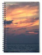 Yellow Sunset Spiral Notebook