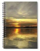Yellow Sunshine Spiral Notebook