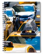 Yellow Taxis Spiral Notebook