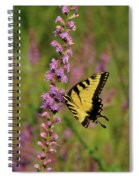 Yellow Tiger Spiral Notebook
