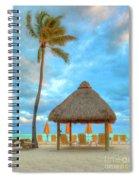 Yellow Tiki Spiral Notebook