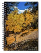 Yellow Trees Spiral Notebook