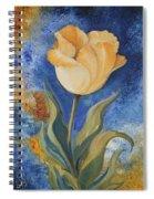 Yellow Tulip Spiral Notebook