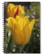 Yellow Tulip Spiral Notebook