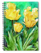 Yellow Tulips Spiral Notebook