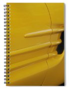 Yellow Vette Spiral Notebook