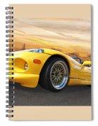 Yellow Viper Rt10 Spiral Notebook