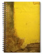 Yellow Wall Spiral Notebook