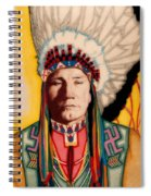 Yellowhead, A North America Indian Medical Practitioner Spiral Notebook