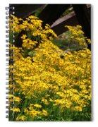 Yellows Spiral Notebook