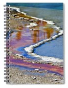 Yellowstone Abstract I Spiral Notebook