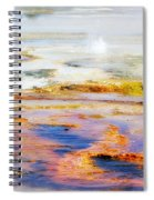 Yellowstone Abstract II Spiral Notebook