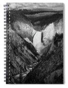 Yellowstone Falls II Spiral Notebook