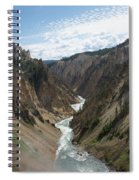 Yellowstone Grand Canyon Spiral Notebook
