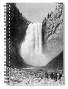 Yellowstone: Grand Falls Spiral Notebook