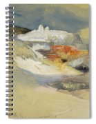 Yellowstone, Hot Springs, July 21, 1892 Spiral Notebook