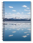 Yellowstone Lake Reflection Spiral Notebook