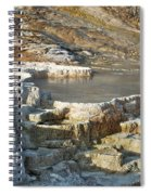 Yellowstone Mineral Features 3 Spiral Notebook
