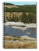 Yellowstone Mineral Ponds Spiral Notebook