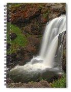 Yellowstone Moose Falls Spiral Notebook