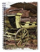 Yellowstone Park Stage Coach With Horses Pa 01 Spiral Notebook