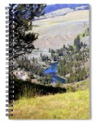 Yellowstone River Vista Spiral Notebook