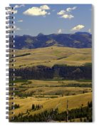 Yellowstone Vista Spiral Notebook