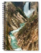 Yellowstone Waterfalls Spiral Notebook