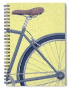 Yelow Bike Spiral Notebook