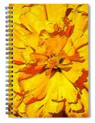 Yelow Tulip Spiral Notebook