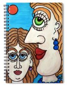 Yes, Mother... - Oui, Maman... Spiral Notebook