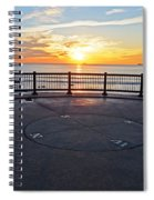 Yes, The Sun Rises To The East Red Rock Park Lynn Shore Drive Spiral Notebook