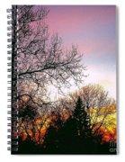 Yesterday's Sky Spiral Notebook