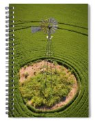 Yesterday's Windmill II Spiral Notebook