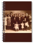Yesteryears-grandfather Philip And Our Family Spiral Notebook
