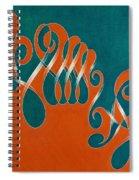 Yin And Yang, No. 3 Spiral Notebook