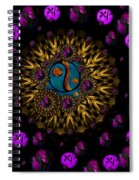 Yin And Yang Collage Spiral Notebook