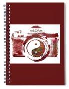 Yin Yang Photo Can Spiral Notebook
