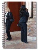 Ying Yang Spiral Notebook