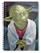 Yoda. Original Acrylic Spiral Notebook