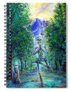 Yoga Tree Spiral Notebook