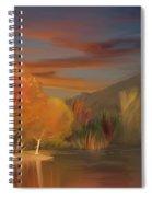 Yorba Linda Lake By Anaheim Hills Spiral Notebook