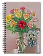 Yorkey Rose Spiral Notebook