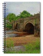 Yorkshire Bridge - P4a16015 Spiral Notebook