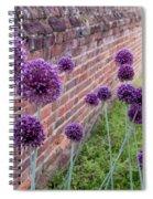 Yorktown Onions Along The Wall Spiral Notebook